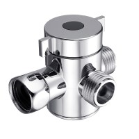 Multi Function 3 Way Shower Head Diverter Valve G1/2