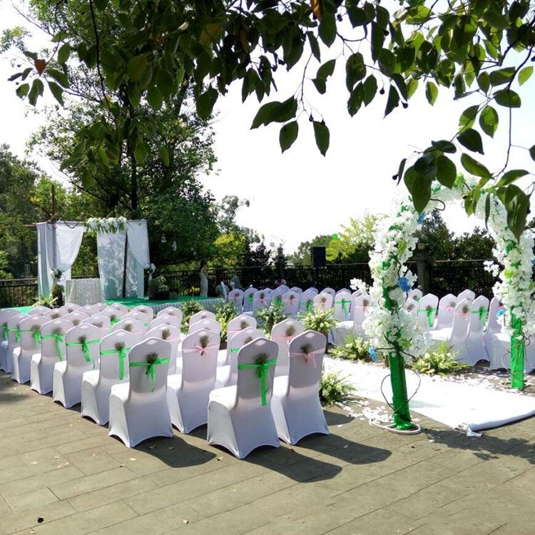 banquet chair covers ireland best buy elastic cover weddings restaurant (white) | alexnld.com
