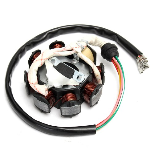 small resolution of 1 x stator motor magneto generator charging coil 8 pole 5 wires 3 fixing holes