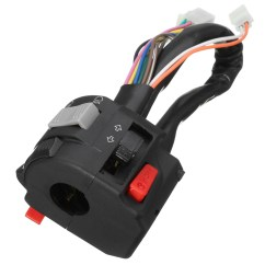 Headlight Switch Motorcycle Pioneer P1400dvd Wiring Diagram 7 8inch Left Handlebar Horn Turn Signals High