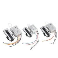 1/2/3 Channel Wireless Wall Lamp Switch Splitter Remote ...