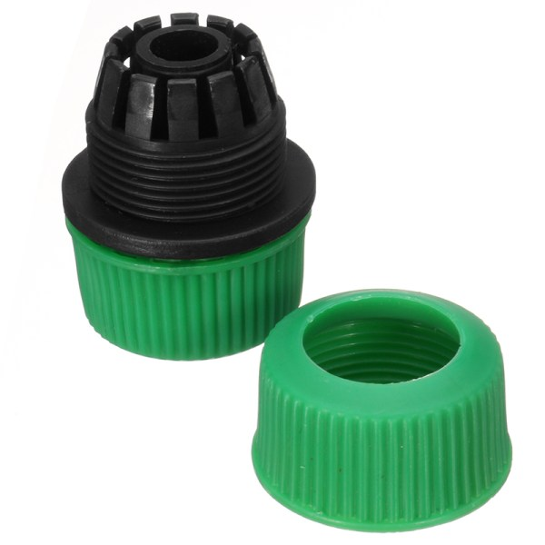 1 2 Water Hose Repair Connector Garden Plastic Pipe Extend Quick Joint