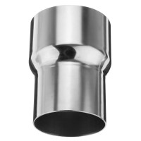3 Inch To 2.5 Inch OD Stainless Standard Exhaust Pipe ...