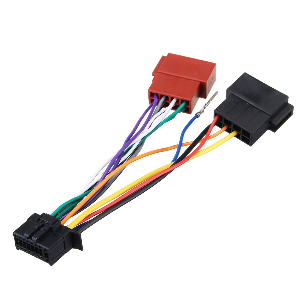 medium resolution of car stereo radio player iso wiring harness connector 16pin for pioneer 2003 on c264d072 24f6 4474 8286 3fb67a1741dc