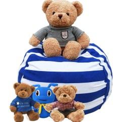 Stuffed Animal Chair Steel Spacers Honana Large Capacity Storage Bean Bag