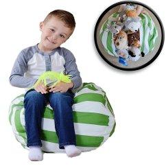 Stuffed Animal Chair Garden Tub Covers Honana Large Capacity Storage Bean Bag