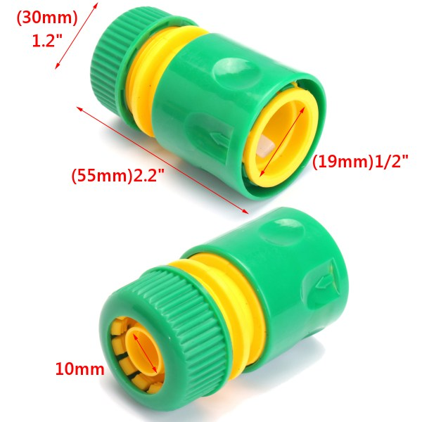 10pcs 1 2 Garden Tap Water Hose Pipe Connector Joiner