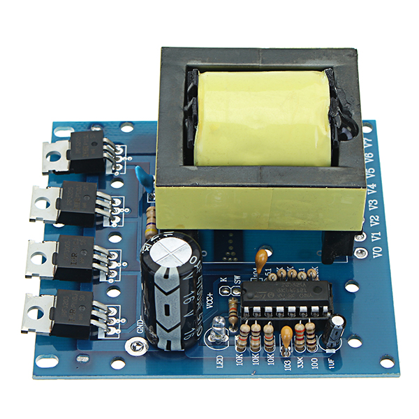 Dc To Ac Inverter Circuit Without Transformer