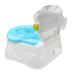 Potty Chair Large Child Pier 1 Leather 2 In1 Portable Music Kids Baby Toilet Trainer