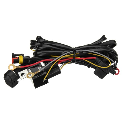 small resolution of 12v 40a led fog lights wiring harness switch on off for bmw r1200gs f800gs