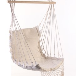 Hanging Chair Wood Covers For Wedding 100x55cm Deluxe Hammock Swing Garden Outdoor