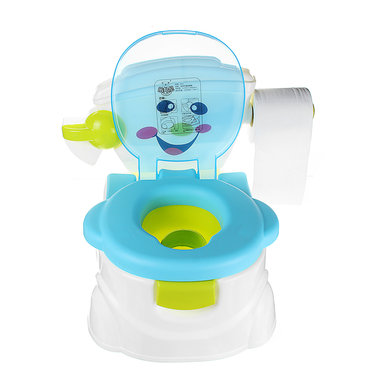 potty chair large child ergonomic lower back support 2 in1 portable music kids baby toilet trainer