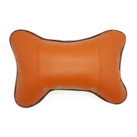 Four Seasons Breathable Leather Surface Car Neck Pillow ...
