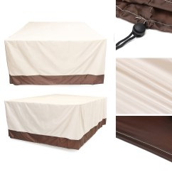 Waterproof Sofa Protector Fold Up Bed Garden Patio Furniture Cover Outdoor Rattan