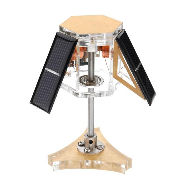 Stark-6 Solar Magnetic Levitation Mendocino Motor