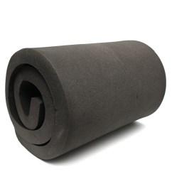 Foam Cushion Inserts For Chairs Black Elastic Chair Covers 200x60x5cm High Density Seat Sheet