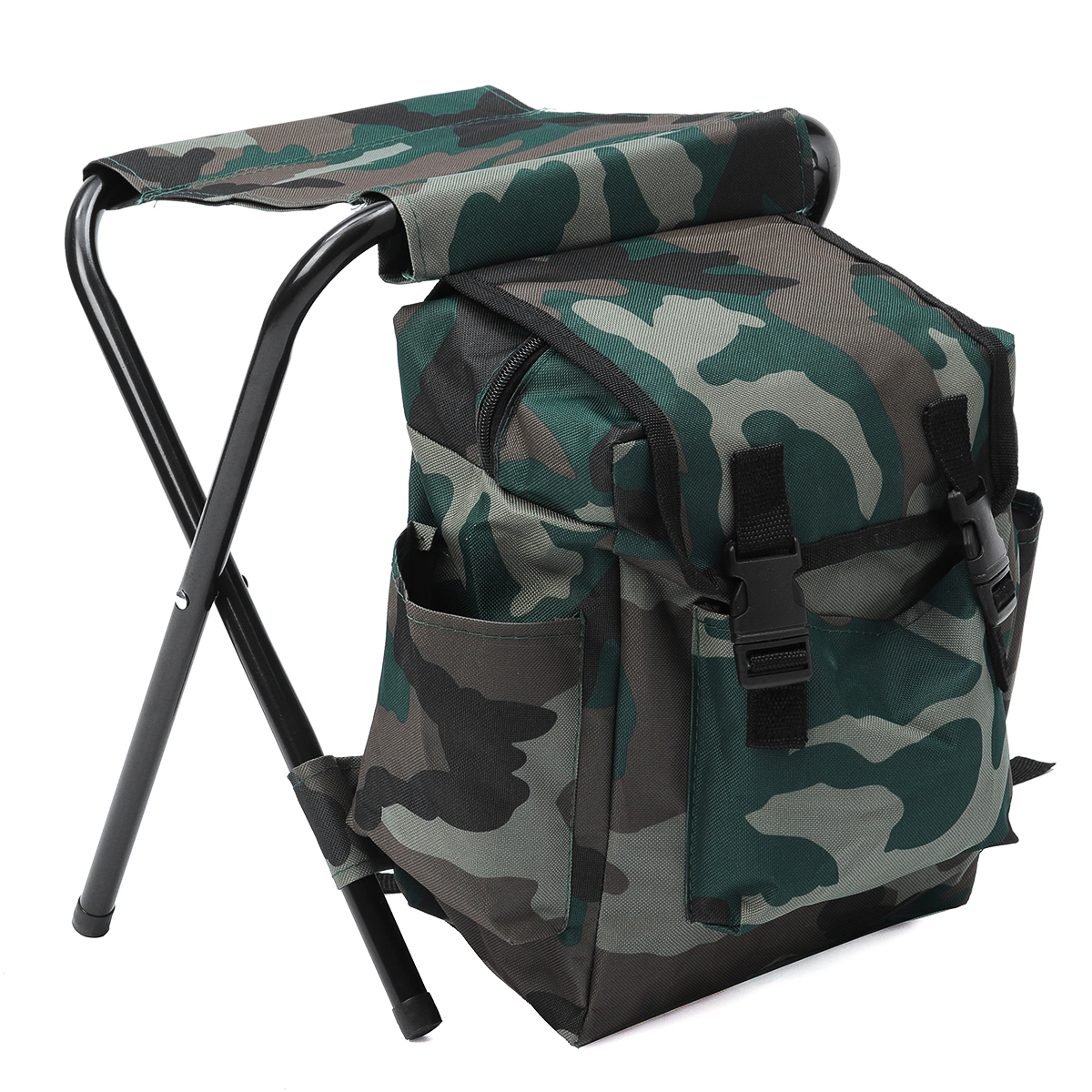 fishing chair rucksack costco high foldable stool camping backpack oudoor