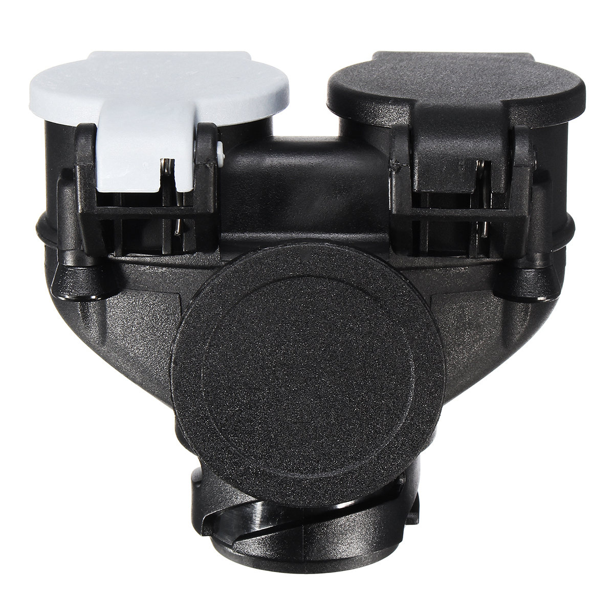 To Suit Black Towbar Socket For Powering Trailer Caravan Road Lights