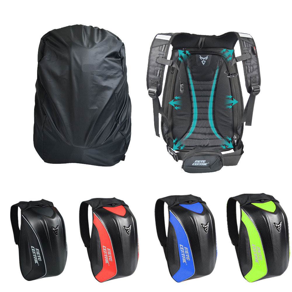 MOTOCENTRIC Motorcycle Motocross Waterproof Riding Backpack Luggage Bags With Reflective Strip