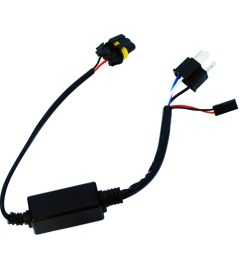 motorcycle h4 headlight telescopic lamp control line high and low lamp hid wiring harness [ 1000 x 1000 Pixel ]