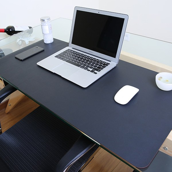 Multifunction Business Pvc Leather Mouse Pad Keyboard Table Mat Computer Desk 80x40cm