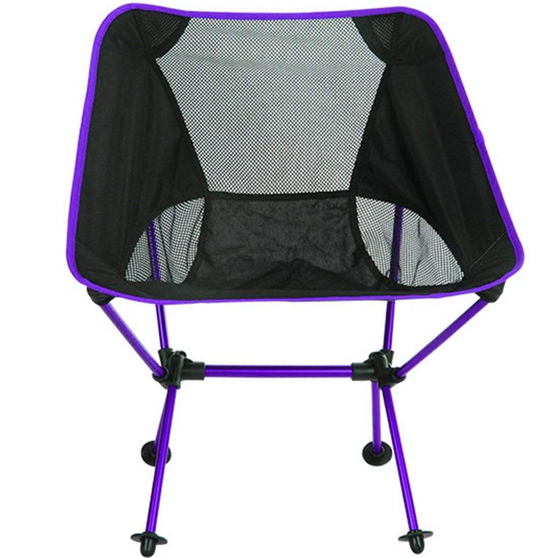 Portable Beach Chair Outdoor Portable Folding Camping Chair Light Fishing Beach Chair Aviation Aluminum Alloy Backrest Recliner