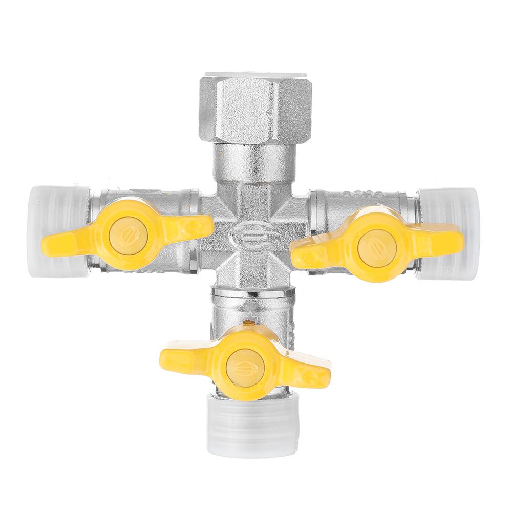 1 2 garden hose tap manifold quick