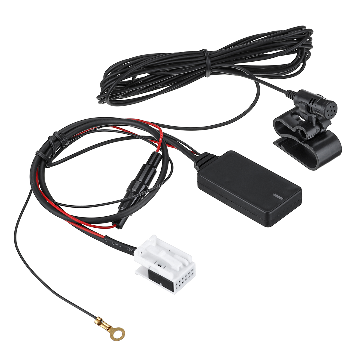 12Pin Car Hand-free Wireless Radio bluetooth AUX Dongle