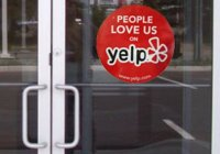 Yelp sticker
