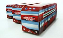 Embalagem para PenDrive London Bus