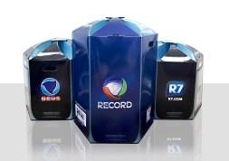 Embalagens para o Kit Aniversário Record 2012