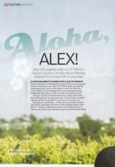 Alex O'Loughlin Australian TV-Week 1