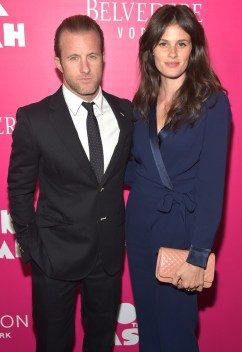 Scott Caan & Kacy Byxbee at Rock the Kasbah Premiere