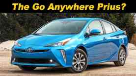 2019 Toyota Prius eAWD | The Most Efficient AWD Car In America?