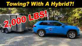 Can A Hybrid Tow? We Put A RAV4 Hybrid To The Test