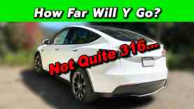 Tesla Model Y – Real World Range Test! How Far Will It Really Go?