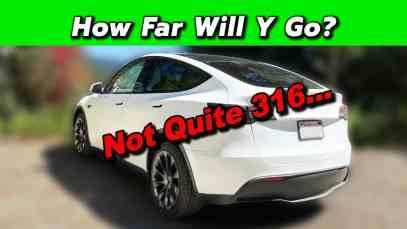 Tesla Model Y – Real World Range Test! How Far Will It Really Go?