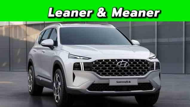 2021 Hyundai Santa Fe First Look | Change Is More Than Skin Deep
