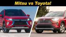 Toyota RAV4 vs Mitsubishi Eclipse Cross | Low Cost vs Cost To Operate