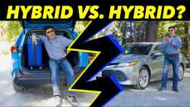 Toyota RAV4 vs Toyota Camry | Battle of the Hybrids