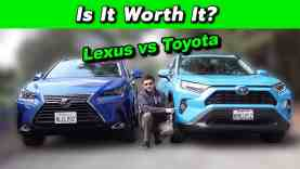 Wall Street vs Main Street Hybrid Edition – Lexus NX vs Toyota RAV4