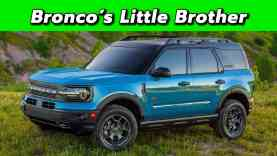 The Baby Bronco Is Here! | 2021 Ford Bronco Sport First Look