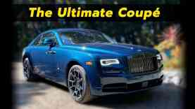 Jeeves, Get The Rolls | 2020 Rolls Royce Black Badge Wraith