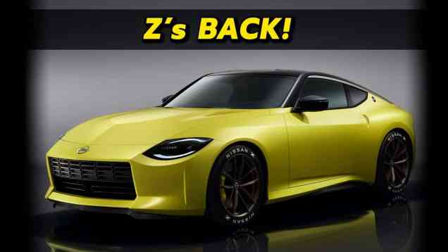 2022 Nissan Z Prototype First Look!