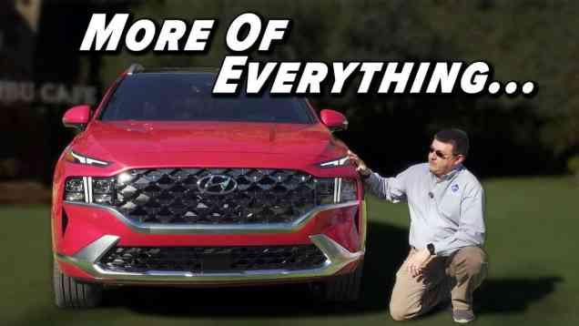 2021 Hyundai Santa Fe First Look