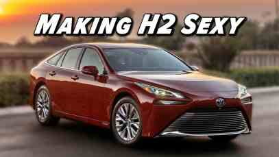 Hydrogen Goes RWD!   2021 Toyota Mirai