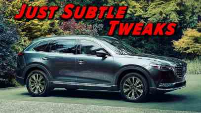 The Lightest Of Refreshes | 2021 Mazda CX 9