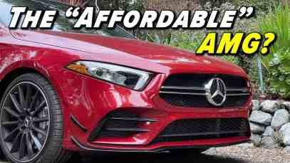 Baby's First AMG?   2021 Mercedes AMG A35
