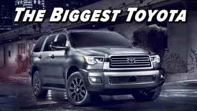 The Toyota Of SUVs | 2021 Toyota Sequoia