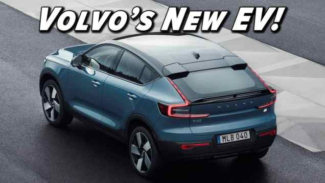 2022 Volvo C40 First Look